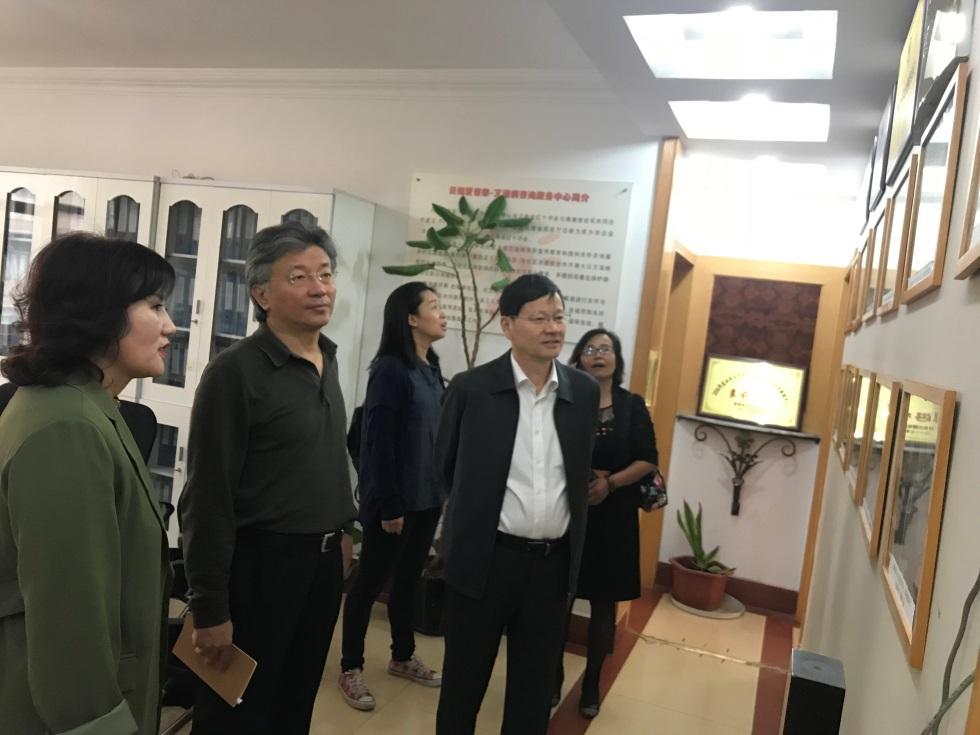 基金办主任杨维中一行赴项目实习基地调研
